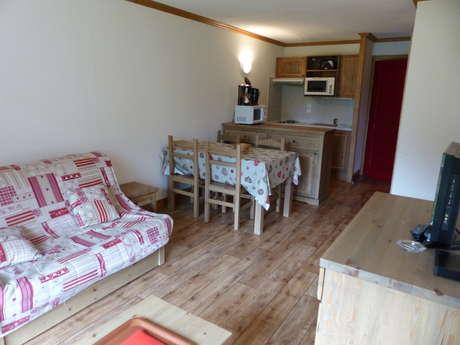 Résidence Le Clos Vanoise - Appartement 2 pièces cabine 6 personnes - CVE2