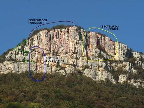Site d'escalade Rochebrune, le Grand Ratz