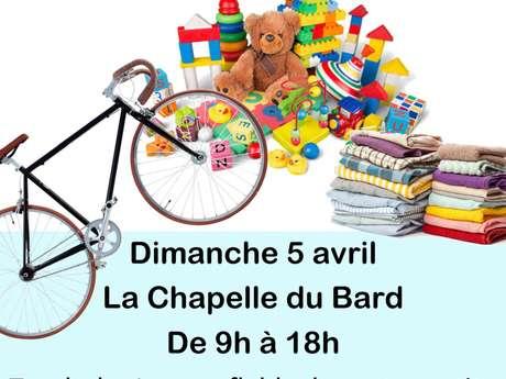 Annulé Vide-Greniers La Chapelle du Bard