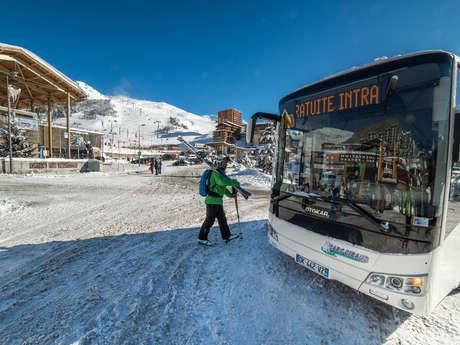 Navette Merlette bus gratuit