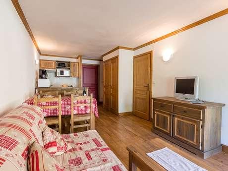 Résidence Le Clos Vanoise - Appartement 2 pièces cabine 6 personnes - CVE8