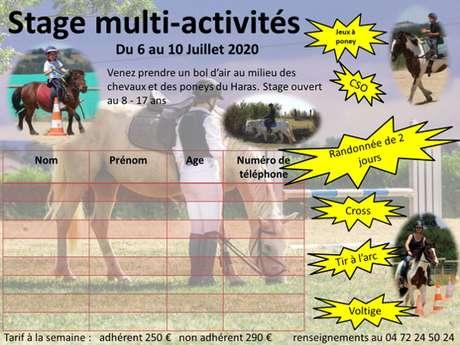 Stage Multi-activités
