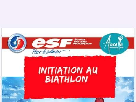 Biathlon - ESF d'Ancelle