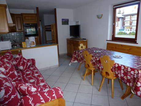 Résidence Les Balcons Des Curtious - Appartement 2 pièces cabine 6 personnes - TA3
