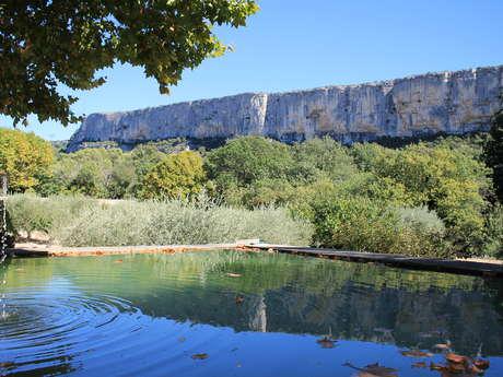 La falaise de Lioux