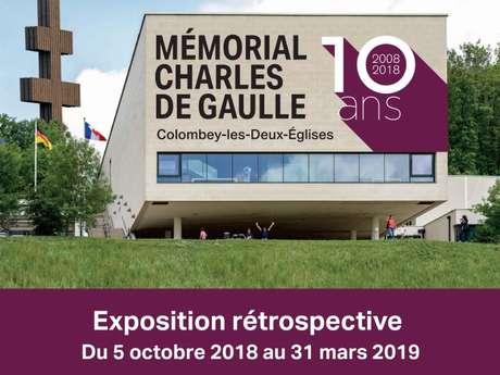 2008-2018 : LE MEMORIAL CHARLES DE GAULLE FETE SES 10 ANS !