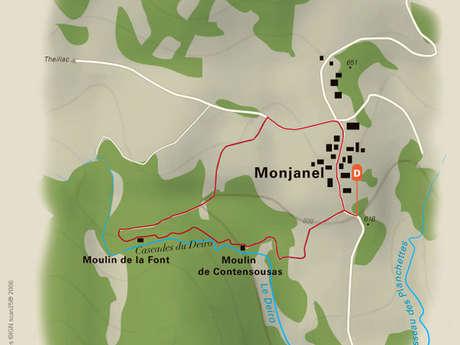 Cascades et moulins du Deiro