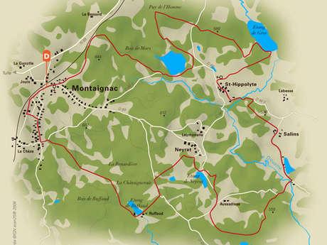 Les étangs du Doustre
