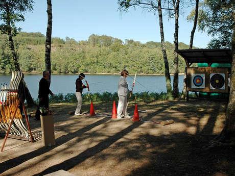Tir  à l'arc et sarbacane Station Sports Nature Ventadour - Lac de la Valette