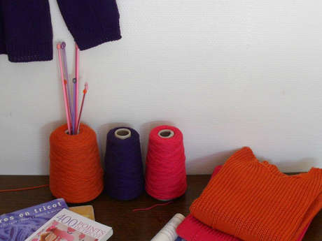 Stage tricot : création en maille à l'aiguille