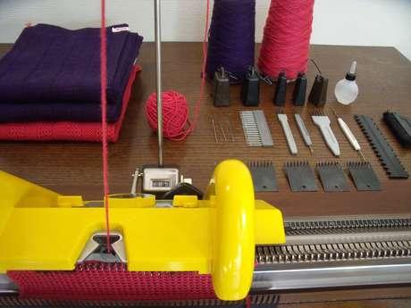 Stage tricot : création en maille à la machine