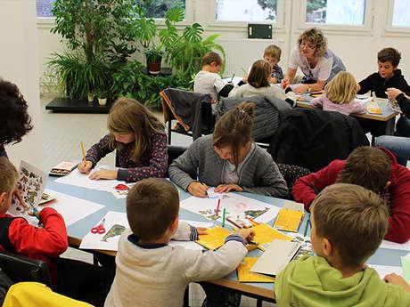 """Atelier jeune public à la Cité de la tapisserie : """"Verdure à feuilles de choux"""""""