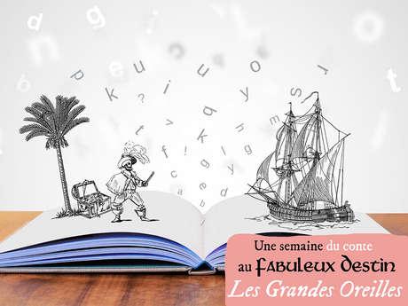 Semaine du conte au Fabuleux Destin : Histoires en chaussettes pour les toutes petites oreilles