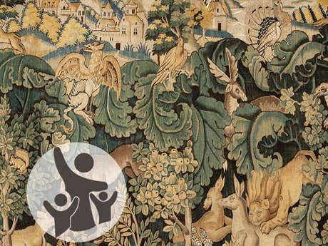 """Atelier jeune public à la Cité de la tapisserie : """"Dragon"""""""