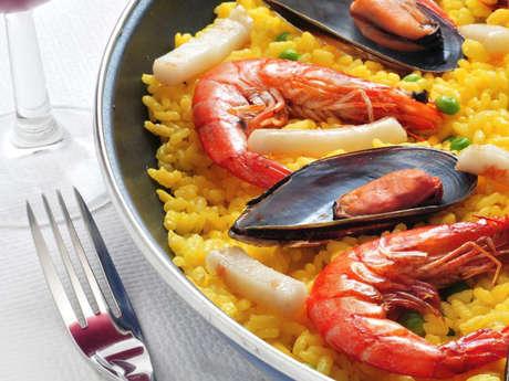Soirée paella à emporter au Saint-Sulpice