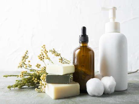 Atelier savon noir à la boutique éphémère