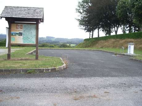 Aire d'accueil Camping-Cars