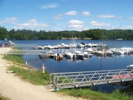 Port de plaisance et mise à l'eau de Vauveix