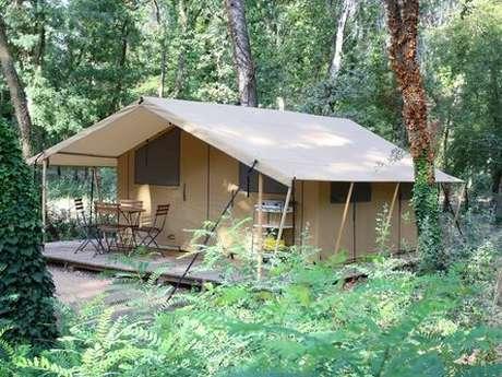 Tentes bengali du camping La Presqu'île (4 pers)