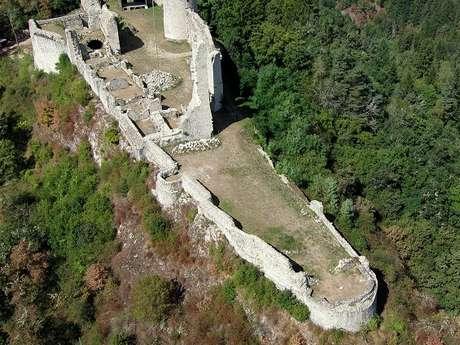 Visite du château de Ventadour
