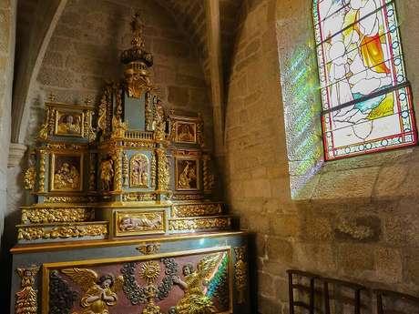 Retable du XVII° s (Eglise St-Jacques)