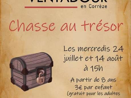 Chasse au trésor au Château de Ventadour