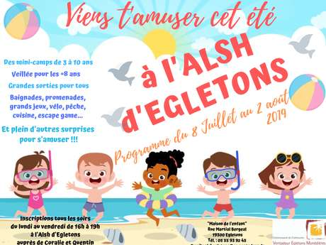 Animations de Juillet