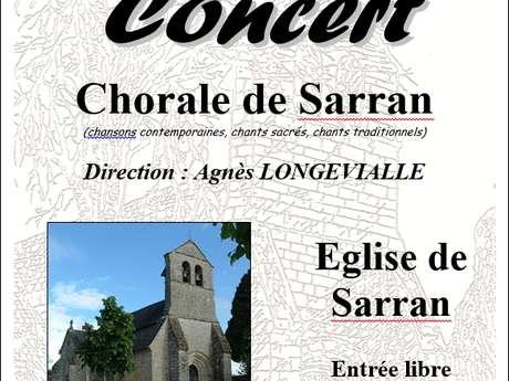 Concert de la Chorale de Sarran