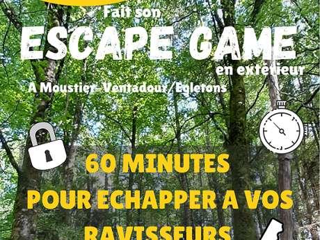 Trésor Ludique fait son Escape Game en extérieur