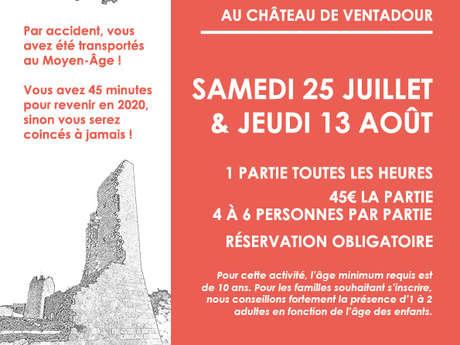 Escape game / jeu d'évasion au château de Ventadour