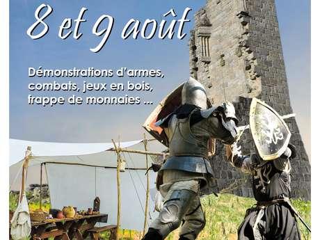 Camp médiéval au château de Ventadour