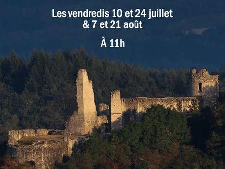 """Visite au château de Ventadour , """"un château et un paysage"""""""