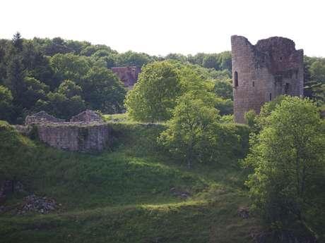 Princesses et chevaliers à la forteresse médiévale