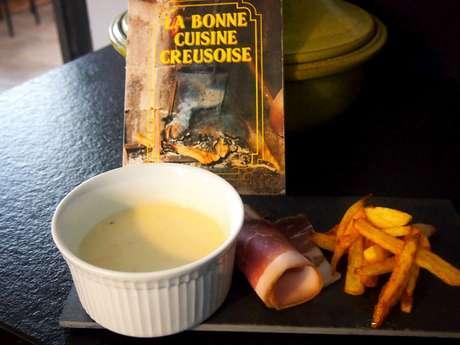 Repas fondu-frites