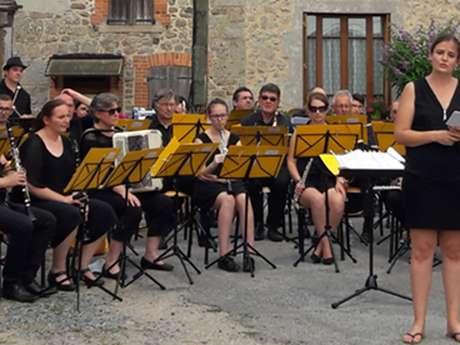 Concert en plein air de l' Orchestre Philharmonique de Guéret – La Souterraine