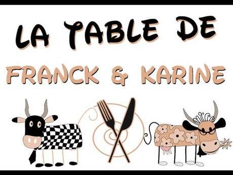 La table de Franck et Karine