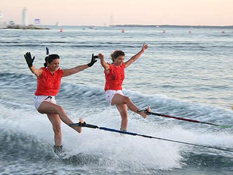 Belles-Rives water-skiing