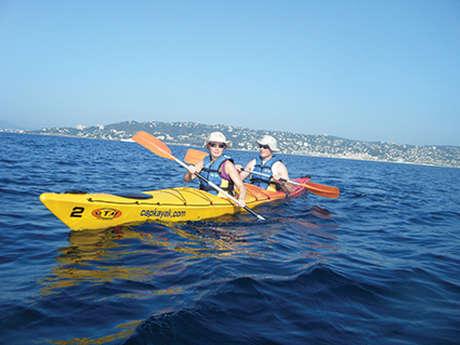 Cap Kayak - paddle center