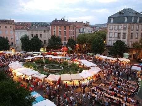 Marché Nocturne de Producteurs Fermiers & d'Artisans d'Art de Millau
