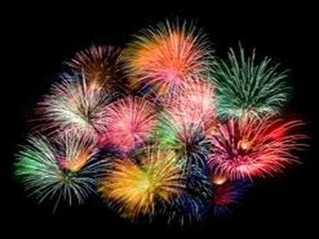 Feu d'artifice et fête nationale du 14 Juillet