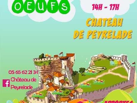 Chasse aux oeufs au château de Peyrelade ! ANNULÉE