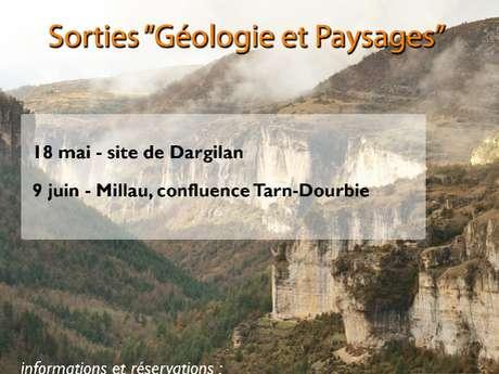 """Sortie """"Géologie et Paysage"""" au confluent du Tarn et de la Dourbie"""