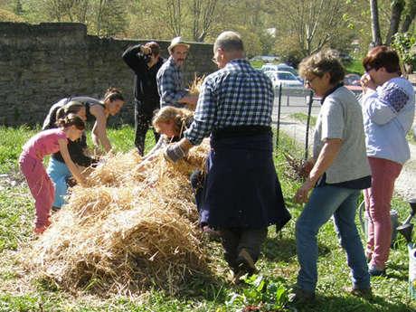 Rencontres participatives pour le Jardin au Naturel du gîte de la Maladrerie : permanences