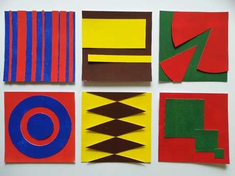 mes vacances au musée Soulages : ateliers plastiques pour le jeune public