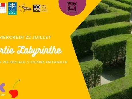 Sortie Labyrinthe de Merville