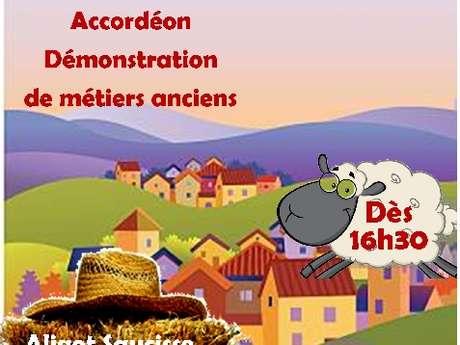 Fête de village à Liaucous