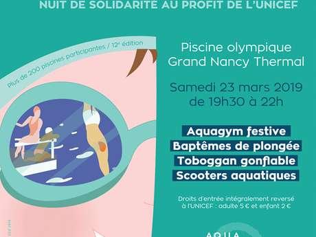 MANIFESTATION LA NUIT DE L'EAU UNICEF