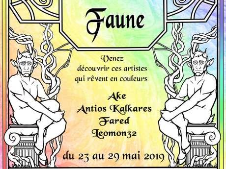 EXPOSITION RÊVERIES D'UN FAUNE