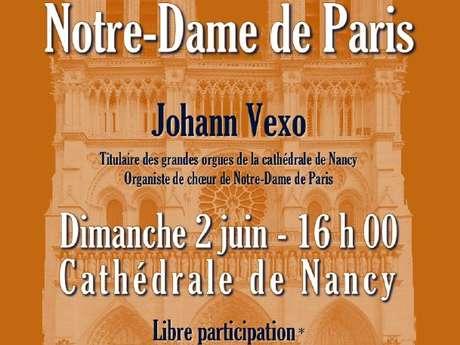 RECITAL D'ORGUE AU PROFIT DE NOTRE DAME DE PARIS