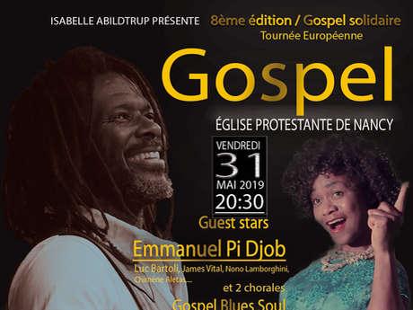 8ÈME EDITION CONCERT GOSPEL AVEC EMMANUEL P DJOB